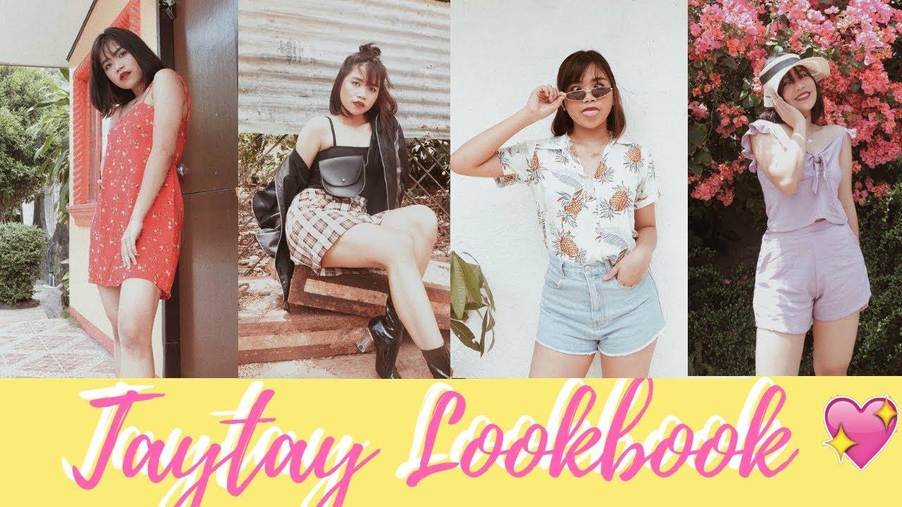[VIDEO] - TAYTAY TIANGGE LOOKBOOK 2019 (Philippines) | Under 600 php | Anja Mendoza 1