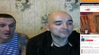 Versus - Бисквит VS Мопс с Андрюхой / бисквит пытается опустить мопса с его хозяином