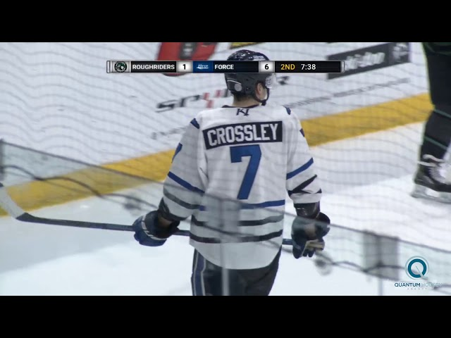 #7 - Austin Crossley - Fargo Force 19/20