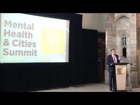 John Tory speak at the Mental Health & Cities Summit