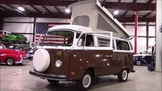 1978 Volkswagen Bus brown