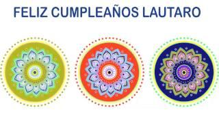Lautaro   Indian Designs - Happy Birthday