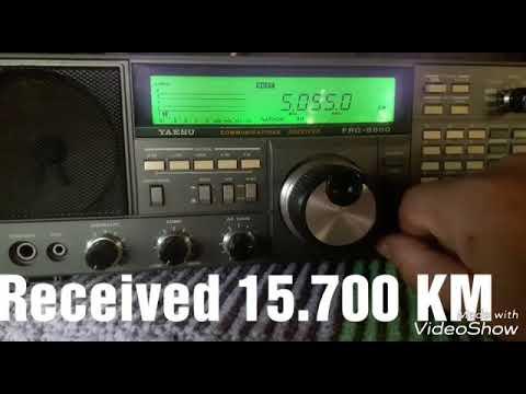 5055 kHz Radio 4KZ North Queensland / Australia