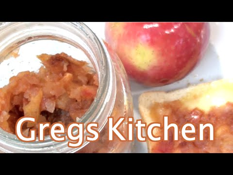 APPLE CINNAMON JAM  - How To Recipe - MADE IN MICROWAVE