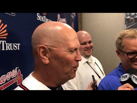 Snitker on win vs. Scherzer and 4-2 homestand