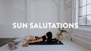 Sun Salutations  |  Yoga with Nina