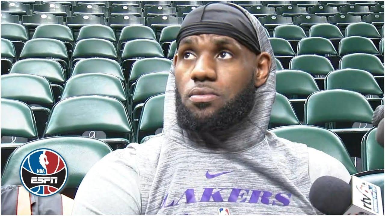 LeBron James not focusing on Anthony Davis trade rumors surrounding Lakers | NBA Sound