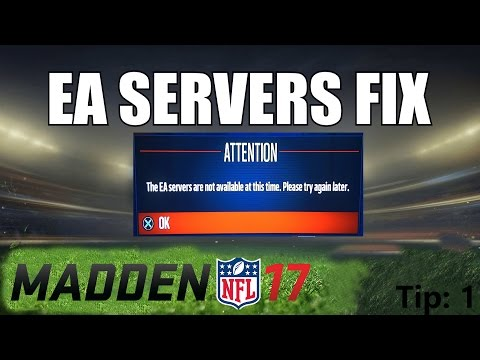 How To Fix Unable To Connect To EA Servers [Madden 17 / 18 / 19] - Method (1)