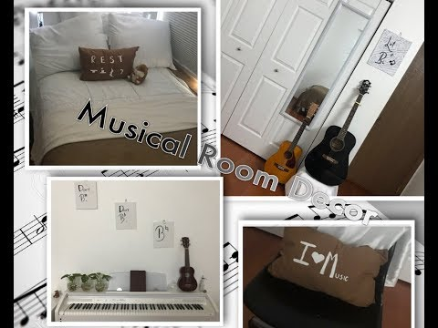 4 Musical DIY Room Decor Pieces