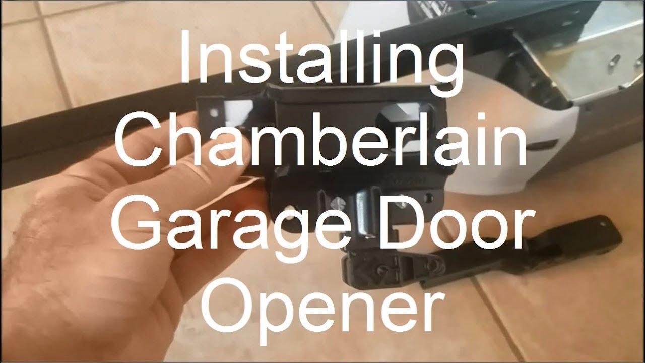 Nick S Fit It Installing A Chamberlain Garage Door Opener