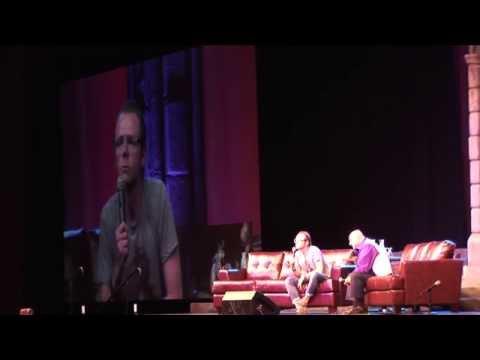 Salt Lake Fantasy Con Panel of Simon Pegg