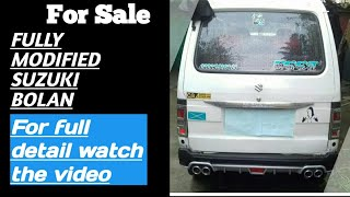 | Modified | suzuki Bolan / carry Daba | in pakistan | overall review..??