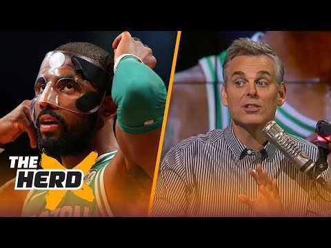 Colin Cowherd is wary of the Boston Celtics even with their 13-game win streak | THE HERD