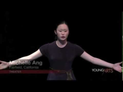 Michelle Ang  2012 YoungArts Week Theatre Performance
