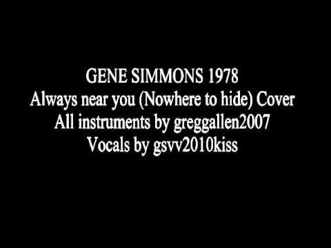 GENE SIMMONS ALWAYS NEAR YOU COVER GREGG ALLEN + GSVV2010