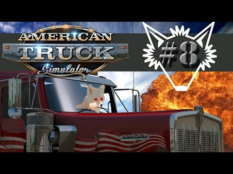 American Truck Simulator | Part 8 | Long Distance Trucking to Oakdale - Gameplay Let's Play