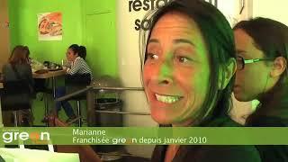Green Is Better : Vidéo 2010, une franchise salad bar très tendance ? AC Franchise