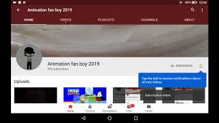 Subscribe Click Animation – Tipmyshow