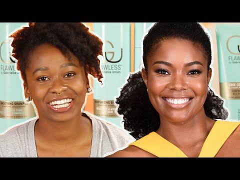 Women Try Gabrielle Union's Hair Care Line