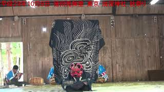 平成29年10月8日 信州鬼無里 東京 加茂神社 秋祭り