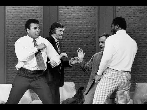 Muhammad Ali and Joe Frazier interview on Dick Cavett Show