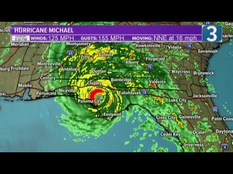 Hurricane Michael will retain tropical storm strength in Georgia & the Carolinas