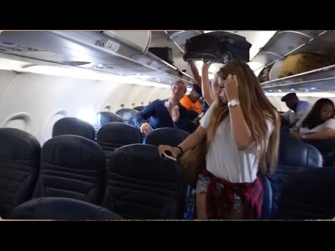 ALMOST MISSED MY FLIGHT!! (Fly with Jackie & I)