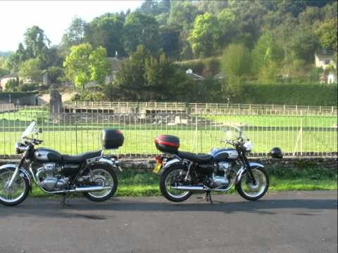 Kawasaki W650 And W800 Forum Youtube