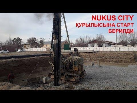 Nukus City қурылысына старт берилди