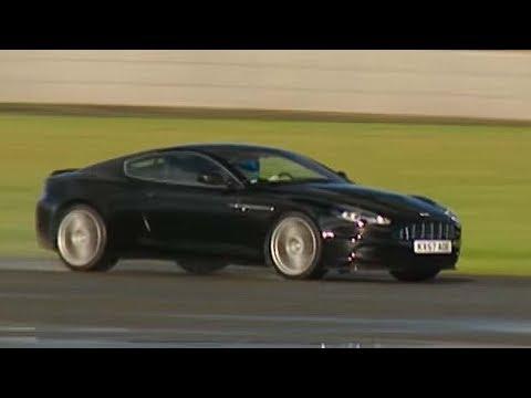 Aston Martin DBS Power Lap - The Stig - Top Gear - BBC