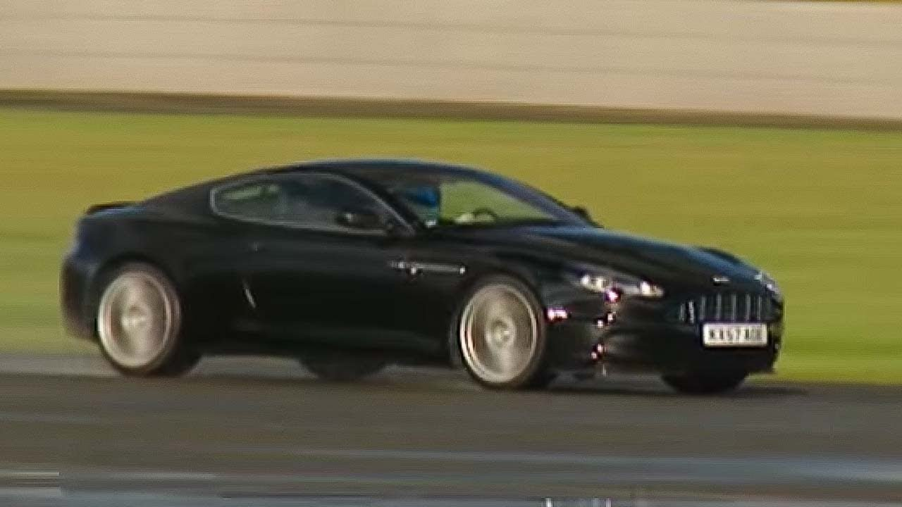 aston martin dbs power lap - the stig - top gear - bbc - youtube