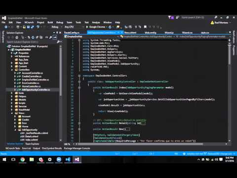 Emplea.do - Intro a ASP NET para front end developers