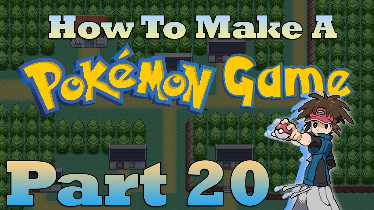 how to make a pokemon game in rpg maker part 20 trainer