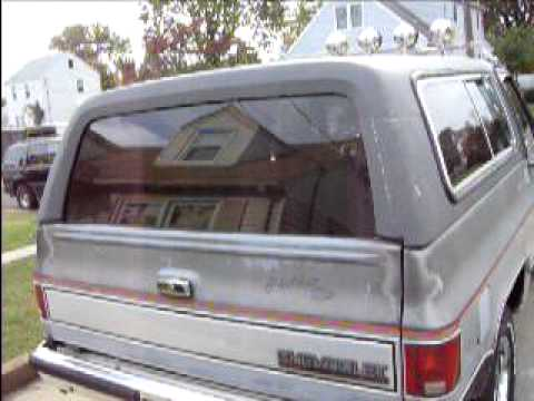 K 5 Blazer Rear Window Problems