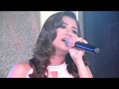 Morissette Amon sings Hello at the Manila Pavillion Hotel and Casino