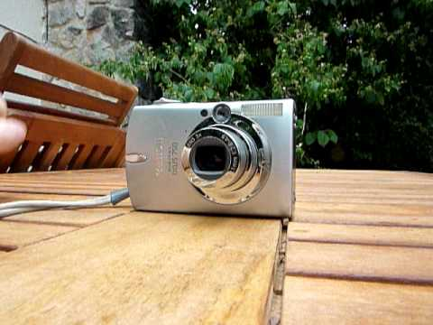 Canon Digital IXUS 750 Lens Error (E18)