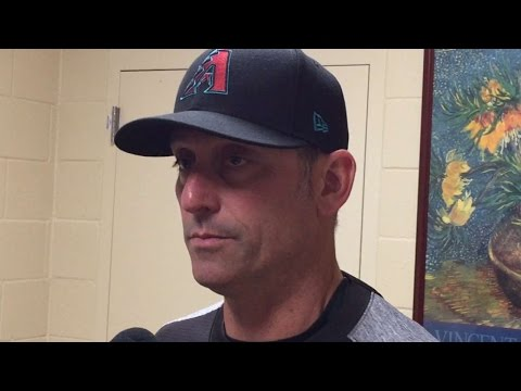 ARI@SD: Lovullo on Miller's outing, 11-2 win