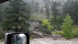 boulder canyon mudslide