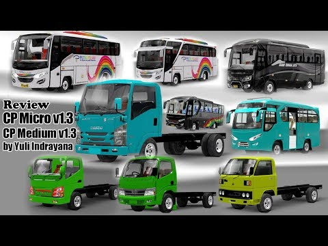 REVIEW Mitsubishi Canter 125ps by Tedott ETS2 MOD INDONESIA by