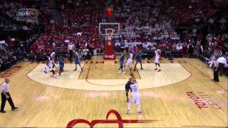 Rajon Rondo technical foul on James Harden: Dallas Mavericks at Houston Rockets