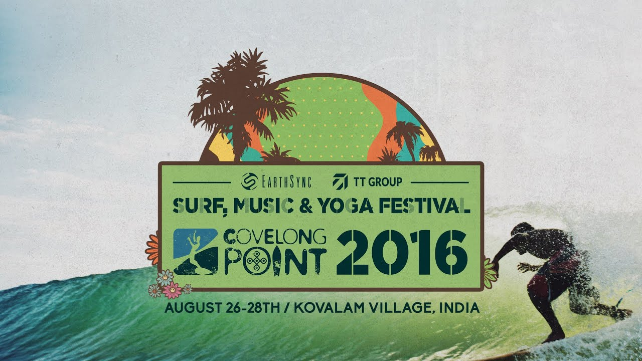 Covelong Point Surf, Music, Yoga Festival 2016