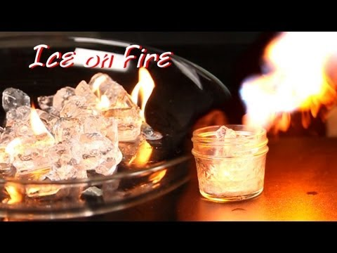 Ice on Fire - Awesome Science