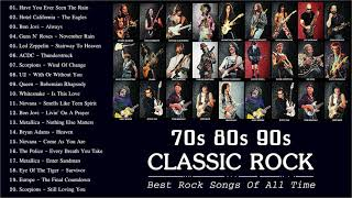 Rock Music 70s 80s 90s | Best Rock Songs Of All Time