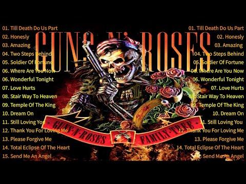 Scorpions, Aerosmith, U2, Guns N' Roses, Led Zeppelin | SLow Rock & Rock Music 70s, 80s, 90s
