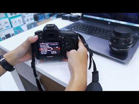 [MGR TV3] Những chú ý nhỏ khi dùng Canon 6D