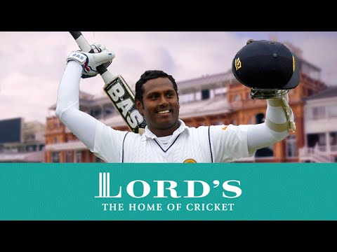 Angelo Mathews Lord's Hundred in 2014