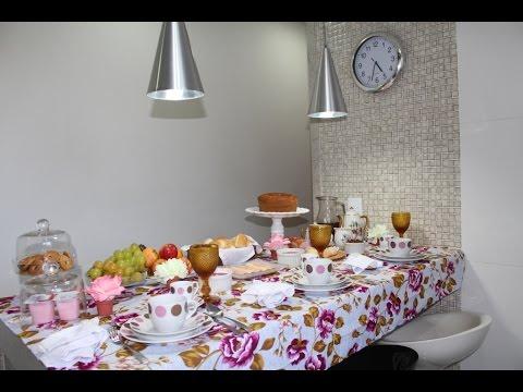 Mesa Posta: Café da Manhã ou Café da Tarde!