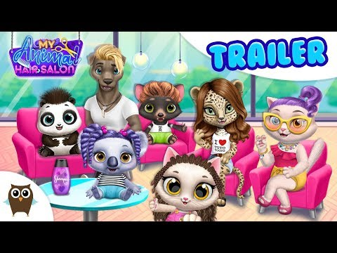 My Animal Hair Salon 😻 Create & Experiment! TutoTOONS Games For Kids