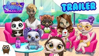 My Animal Hair Salon 😻 COMING SOON to the App Store! TutoTOONS Games for Kids