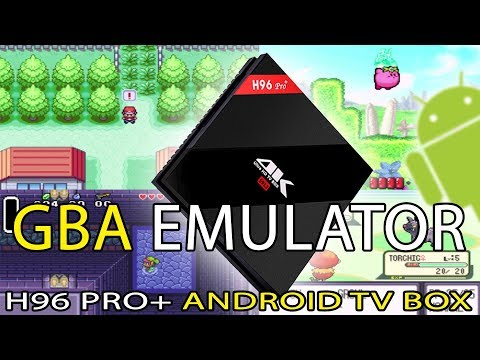 H96 Pro+ Gameboy Advance (GBA) Emulator Test [Pokemon Roms] [Android TV Box]